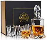 KANARS WD04 Set di Decanter di Whisky Cristallo 5 Pezzi…