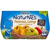 Manzanas Nestlé NaturNes y Membrillo (4/6 meses) 4 ...