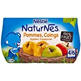Nestle NaturNes Apples and Quince (4 / 6 months) 4 x 130g