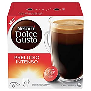 Shop for Nescafe Dolce Gusto Espresso Decaf Coffee, Pack of 3 (Total 48 Capsules, 48 servings) - Nestle UK