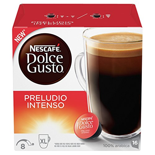 Get Nescafé Dolce Gusto Preludio Intenso, Pack of 3 (Total 48 Capsules, 48 Servings) - Nestle UK