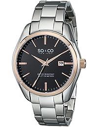 SO & CO New York Reloj 5101.5 Plateado