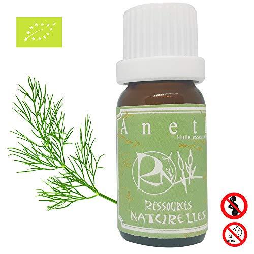 Ressources Naturelles - Huile essentielle Aneth bio 10 ml
