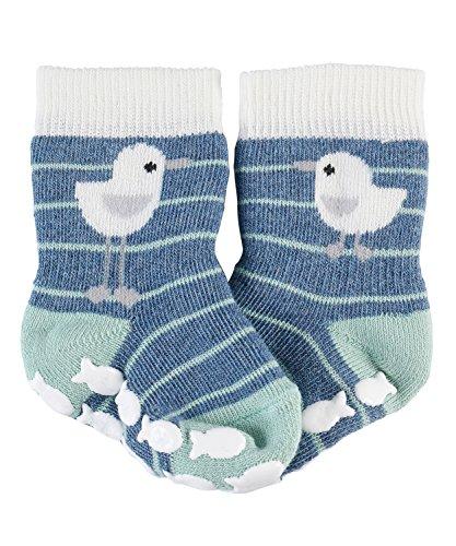 falke babysocken FALKE Baby - Unisex Baby Seagull Socken, per pack Mehrfarbig (light denim 6660), 19-22 (Herstellergröße: 80-92)