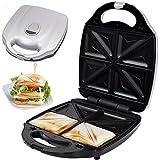 Syntrox Germany XXL Sandwichmaker für 4 Sandwiches mit herausnehmbaren Backplatten