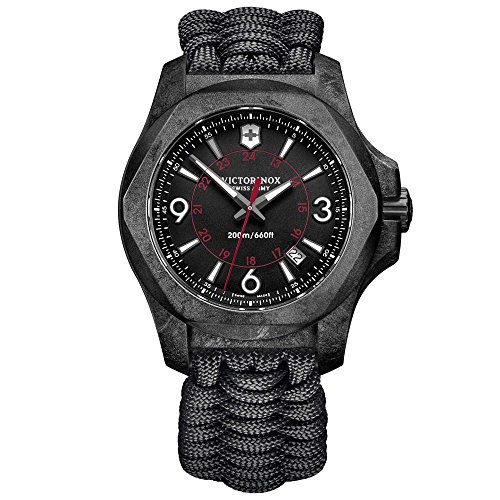 Victorinox Hombre Digital Cuarzo Reloj con plástico Pulsera 241776