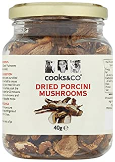 Cooks & Co Dried Porcini Mushrooms 40 g (Pack of 6) (B00427O300) | Amazon price tracker / tracking, Amazon price history charts, Amazon price watches, Amazon price drop alerts
