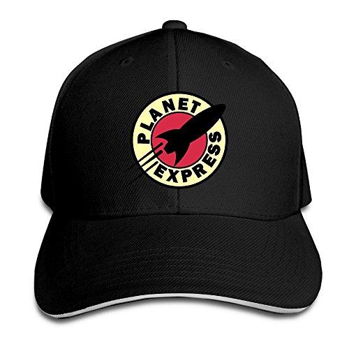 Hittings Sunny Fish6hh Unisex Adjustable Planet Express Baseball Caps Hat One Size Black (Express Baseball)