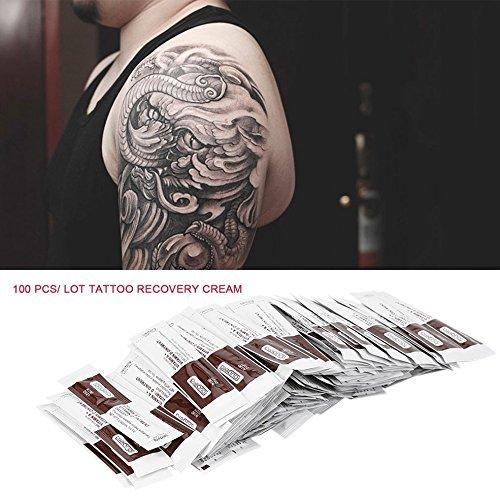 100 Stück Tattoo Recovery Creme Vitamin A/D-Salbe Top Tattoo Reparatur Creme