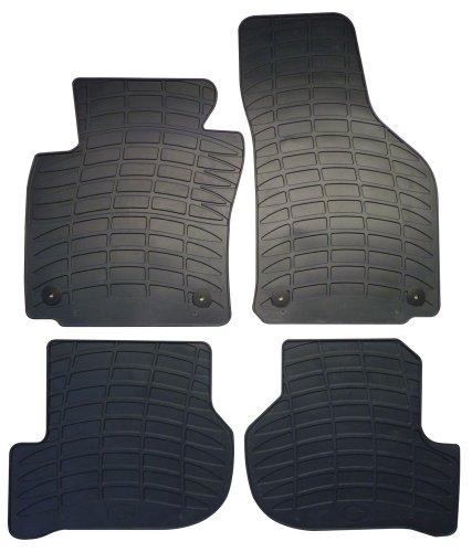 Personalisierte Vier (Cora 000132110Personalisierte Fußmatten aus Gummi, 4Stück)
