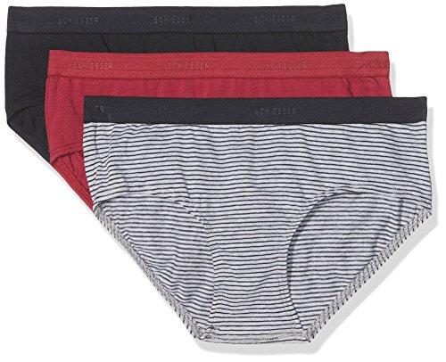 Mädchen 3-pack Slips (Schiesser Mädchen Unterhose Family 3Pack Panties, 3er Pack, Mehrfarbig (Sortiert 1 901), 164 (Herstellergröße: M))