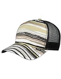 DJINNS - Beach (khaki/white/black) - High Fitted Trucker Cap