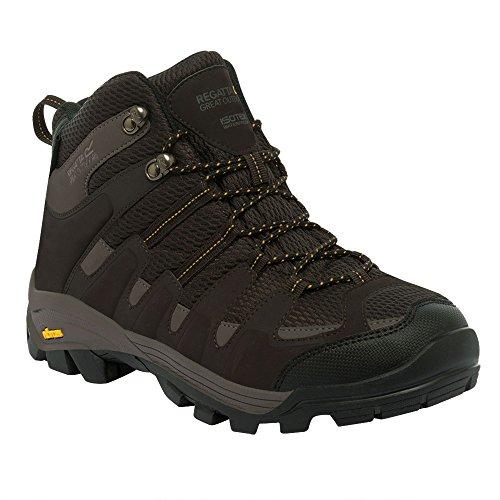 Regatta Great Outdoors - Burrell - Scarpe da camminata - Uomo - Black / Granitet