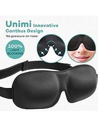 Sleep Mask For Woman & Man 3D Eye Mask Eye Cover For Sleeping - Comfortable Sleeping Mask No Pressure On Your...