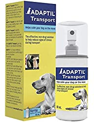 ADAPTIL Calm Transport Spray, helps dog cope with travelling and other short term challenges, 60 ml