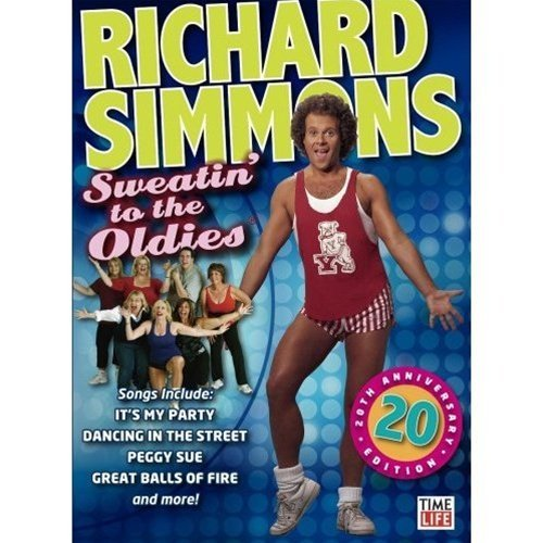 Richard Simmons Sweatin To The Oldies DVD - Region 0 Worldwide by Richard Simmons