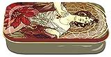 Fridolin 19427Jugendstil Jacqueline Mini Box Metall Mehrfarbig 10x 6,2x 2cm