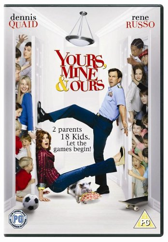 Yours  Mine And Ours  DVD