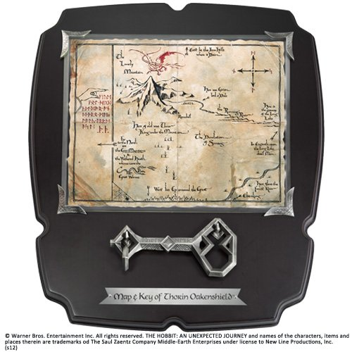 Noble Collection-El Señor Anillos: Llave Y Mapa