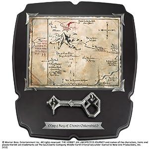 Noble Collection-El Señor de los Anillos: Llave Y Mapa De Thorin