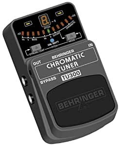 behringer tu300 electric guitar tuner musical instruments