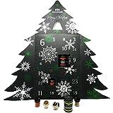 Hallingers 24er Gewürz-Adventskalender mit Gewürzen aus aller Welt (425g) - Gewürze Deluxe Advent 24 White (Deluxe-Box) - zu Weihnachten Adventskalender