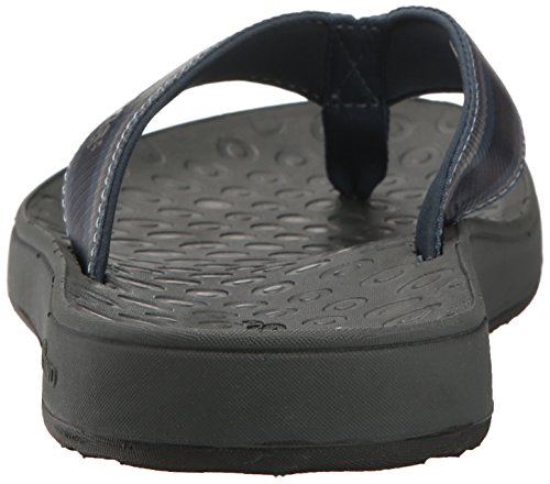 Bogs Mens Hudson Webbing Stripes Sandal Navy Multi