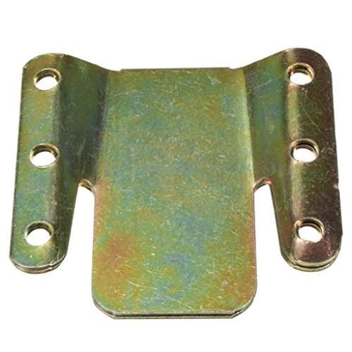 Sharplace 2er-Set Universal Möbelverbinder Steckverbinder, inkl. 12 Schrauben -