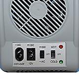 Gino Gelati 6 Liter 2 in 1 Mini Kühlschrank Kühlbox Warmhaltebox Campingkühlschrank 12 & 220 Volt, kühlt bis 25°C unter Umgebungstemperatur - 7