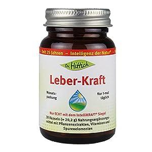 Leber Kraft – 30 Kapseln – ist eine neue Nährstoff-Formel mit Extrakten aus Ingwer, Granatapfel und einem Vitamin- und Mineralkomplex aus Vitamin B1, Vitamin C, Vitamin E, Selen und Zink. Von Dr. Hittich