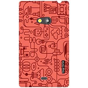 Design Worlds Nokia Lumia 625 Back Cover Designer Case and Covers