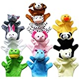 NiceEshop(TM) Cute Animal Hand Puppets Toys Set For Kids Children