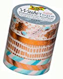 Folia 26428 - Hotfoil kupfer III Washi Tape, 4er Set