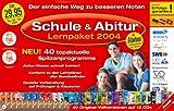 Produkt-Bild: Schule & Abitur, Lernpaket 2004, 12 CD-ROMs Für Windows 98/Me/XP. Mit Abitur Prüfungsaufgaben und -lösungen. Konform zu den Lehrplänen aller Bundesländer, Gezielte Vorbereitung auf Prüfungen & Klausuren