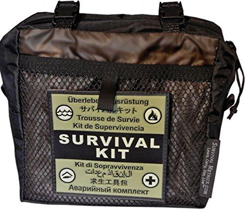 Survival Metrics METPSKPT Kit di Sopravvivenza,Unisex - Adultos, Verde, un tamaño