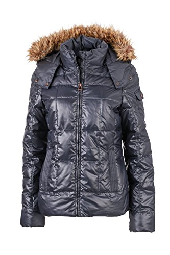 James & Nicholson Damen Jacke Jacke Ladies Padded Winter Jacket Navy