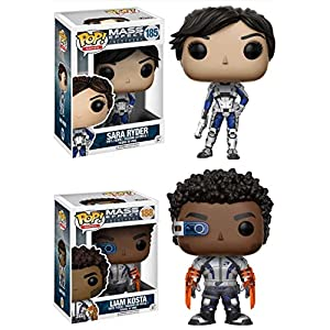 Funko Pop Pack Sarah Ryder + Liam Kosta (Mass Effect Andromeda) Funko Pop Mass Effect