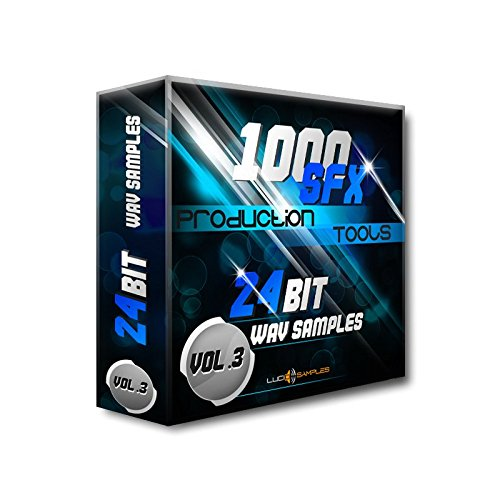 1000 SFX Production Tools Vol. 3 - Marvelous Sound Effects Pack [Apple Loops/ AIFF (24Bit)] [DVD non Box] (Pack Sfx)