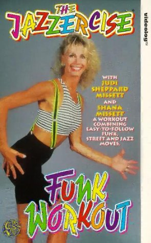 jazzercise-funk-workout-vhs-uk-import