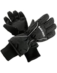 Black Canyon Skiing Gloves - Guantes de esquí infantil, tamaño S, color negro