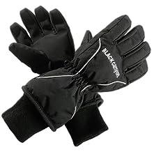 Black Canyon Skiing Gloves - Guantes de esquí infantil, tamaño S, color negro