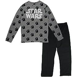 Star Wars - Pijama Dos Piezas - para niño Gris L