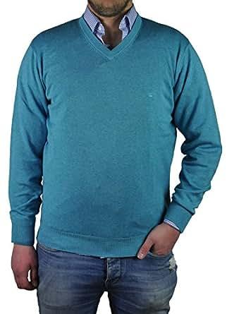 Bild nicht verfügbar. Keine Abbildung vorhanden für. Farbe: Redmond - Herren  Pullover mit V-Ausschnitt in verschiedenen Farben (Art.Nr.