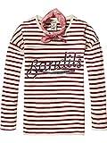 Scotch & Soda R'Belle Mädchen T-Shirt Tee in Heavy Jersey with Artwork & Bandana, Mehrfarbig (Combo A 217), 104 (Herstellergröße: 4)