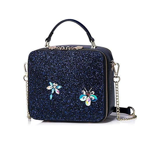 LEOO Kette Umhängetasche Messenger Bag Korean Fashion Wild Handtasche Handtasche (Color : Style A)