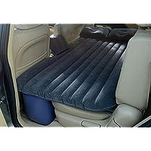Colchón hinchable para coche, para asientos traseros, sofá, con Bomba Eléctrica y cojines