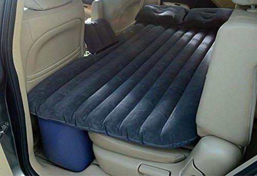 Letto materasso divano gonfiabile auto sedili posteriori + pompa elettrica + cuscini, giardino terrazzo mare camping