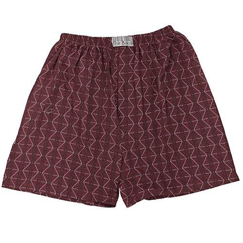 6er Pack Boxershorts Herren mit Eingriff 100% Baumwolle Farben können variieren - 4