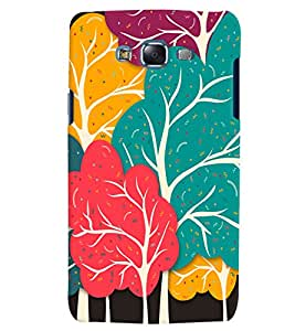 Citydreamz Colorful Trees Abstract Design Hard Polycarbonate Designer Back Case Cover For Samsung Galaxy J7 2016 /J76/J710