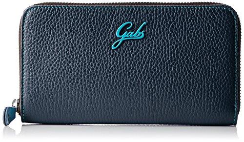 GABS Portafoglio Donna, Blu (Blu (Blu 1901)), 2x19x11 cm (B x H x T)